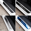 Model3 Car Pedal Protection Strip For Tesla Model 3 Accessories Door Sill Decoration Wrap Cover model three carbon fiber 2020 discount