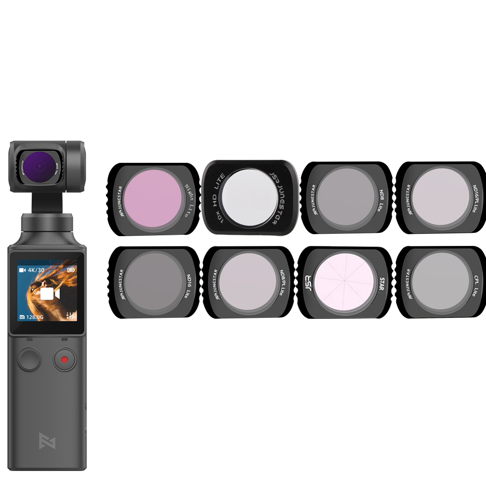 For Xiaomi FIMI Palm Gimbal Filter Neutral Density Polar Accessories ND/NDPL/UV/CPL C-PL Filters Set For Xiao Mi FI MI Palm