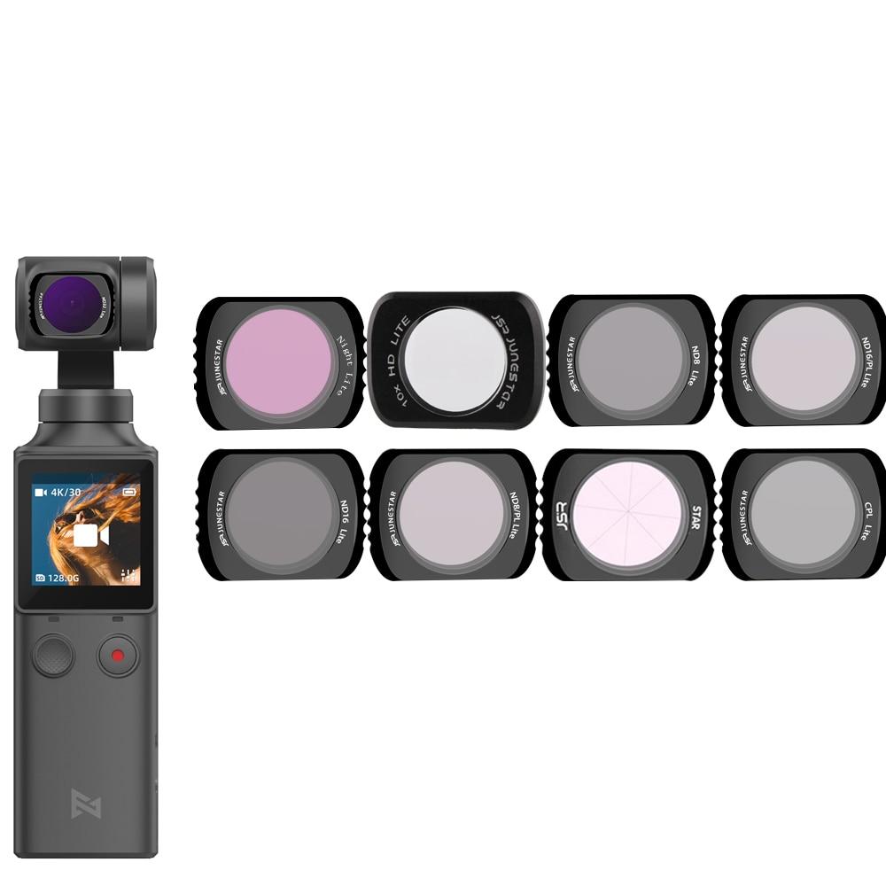 For Xiaomi FIMI Palm Gimbal Filter Neutral Density Polar Accessories ND/NDPL/UV/CPL C-PL Filters Set For Xiao Mi FI MI Palm