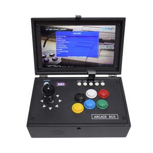Console Arcade-Machine Retropie Video-Game Raspberry Pi 10inch 10000-Games Mini LCD 4B