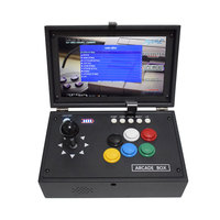 Raspberry Pi 4B 10 Inch LCD Video Game Console HDMI to TV Includes 10000 Games Installed Retropie Mini Arcade Machine