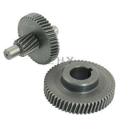uxcell Electric Tool Angle Grinder 38mmx8mm Spiral Bevel Gear Pinion Set