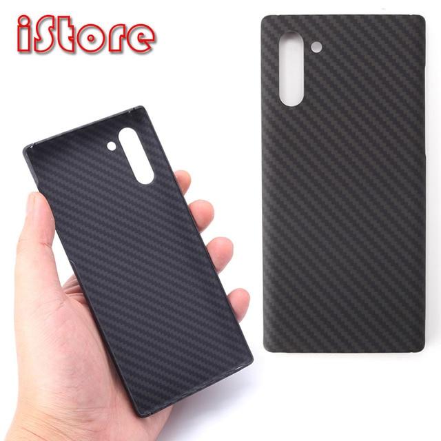Чехол для телефона из углеродного волокна для Samsung note10 Galaxy note10 Plus, тонкие и легкие атрибуты, полукруглый материал арамидного волокна