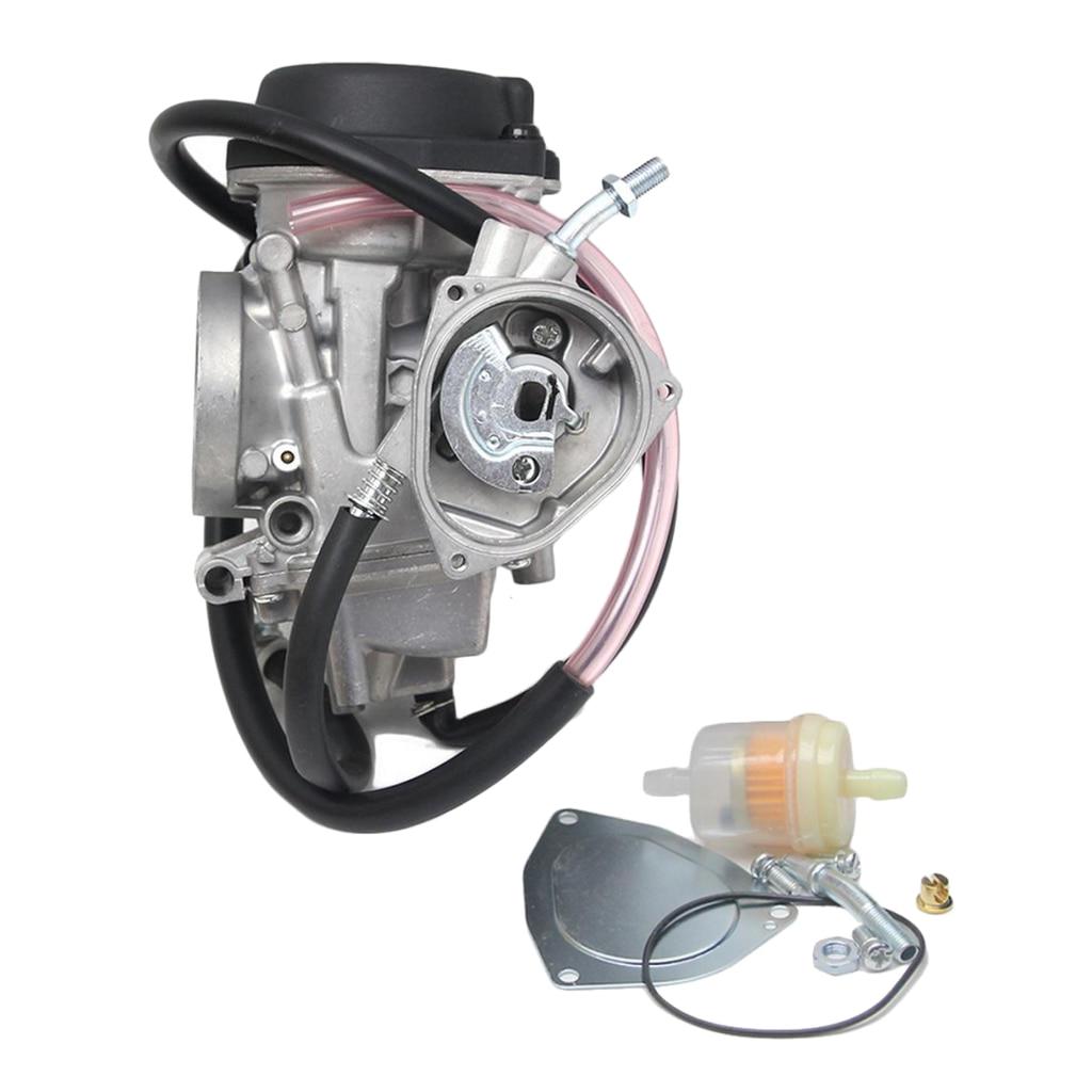 Карбюратор Carb ПОДХОДИТ для Kawasaki KFX400 Hisun 350cc UTV ATV 03-06