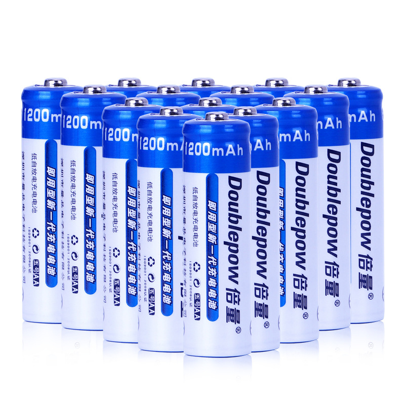 100% New <font><b>AA</b></font> <font><b>Battery</b></font> 1200 MAH <font><b>1.2V</b></font> Rechargeable <font><b>Battery</b></font> <font><b>AA</b></font> 1200 MAH <font><b>Ni</b></font> <font><b>MH</b></font> Rechargeable Bateria for Toy Mouse Flashlight <font><b>Batteries</b></font> image