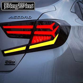 Aiwins for Honda Accord 2018 Accord tail lights New 10th LED Tail Light LED Rear Lamp LED