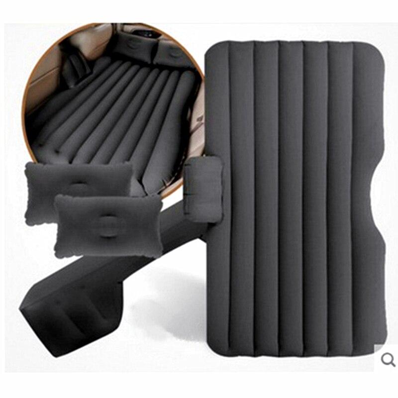 Автомобильная кровать для путешествий, автомобильный надувной матрас, заднее сиденье, надувной диван, раздельная кровать для кемпинга, на о...