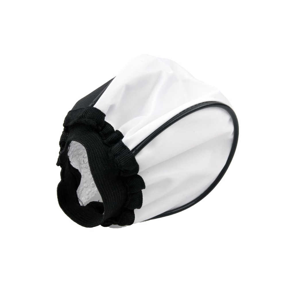 Draagbare Universal Doek Soft Flash Bounce Diffuser Softbox voor Canon Nikon Sony Pentax Olympus Contax