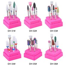 Nail Ceramics Tungsten Steel Alloy Polishing Head Tool Set Polisher Electric File Manicure