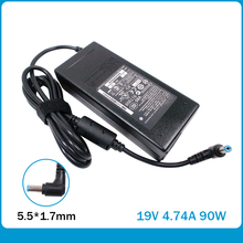 new 19V 4.74A 5.5*1.7mm 90W For acer AC Adapter Power Supply Laptop Charger  ADP-90AB ADP-90CD DB A46C M50 X43B S5 W7 F25 автоадаптер ноутбука asus a8 a6 f3 k50 w7 u6 z9 x80 series dell hp toshiba msi 19v 4 74a 5 5x2 5mm 90w adp 90cd bb adp 90sb