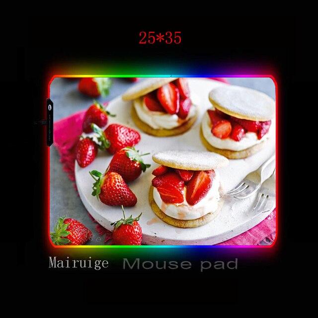 Фото mairuige день рождения клубника торт большой светодиодный светильник