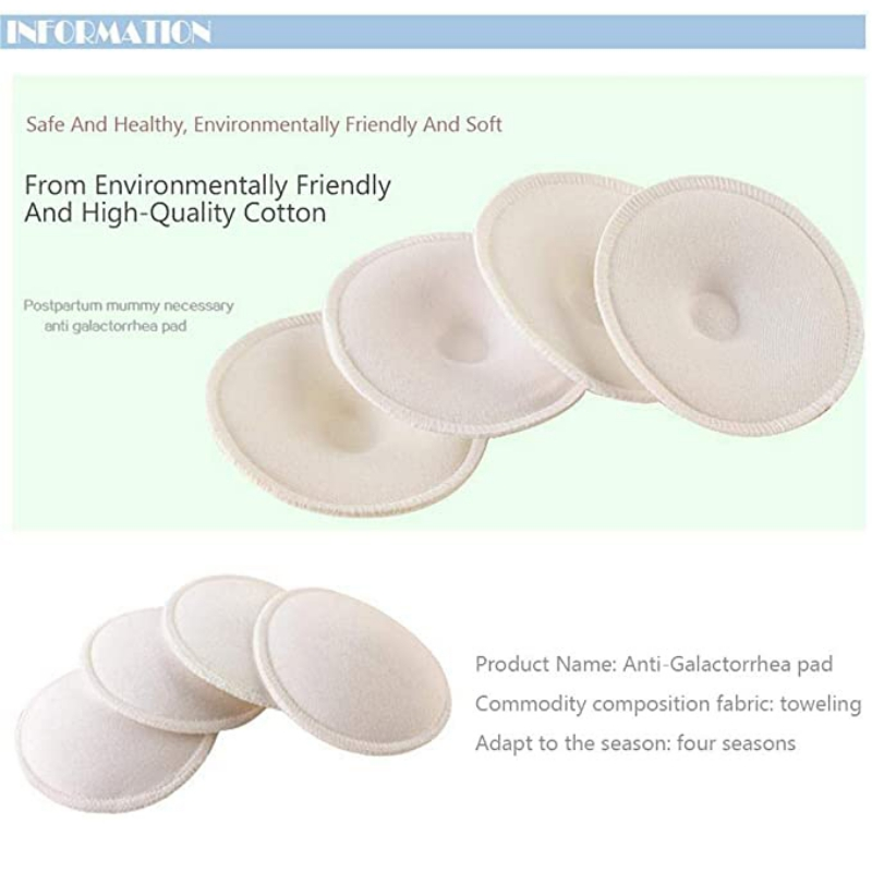 Anti-Galactorrhea Pad Pregnant Cotton Women Thick Three-Dimensional Cotton Nursing Bra Pad Reused Washable Inner Pad