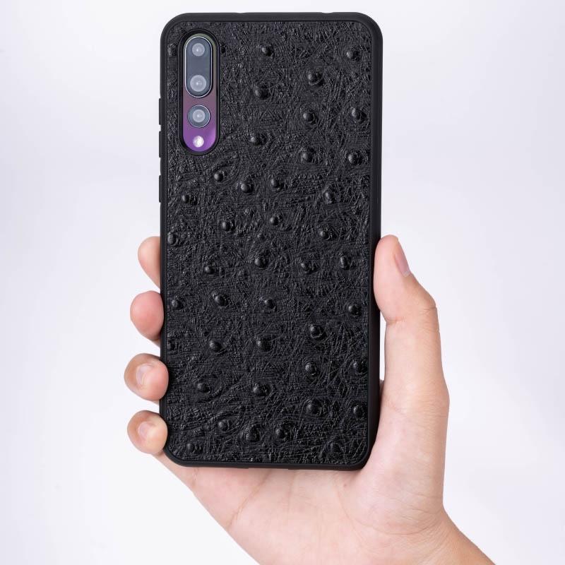 Pelle di struzzo Cassa Del Telefono Per Huawei Compagno di 20 10 9 Pro P10 P20 Lite Molle di TPU Copertura del Bordo Per Honor 8X Max 9 10 Nova 3 3i Capa - 2