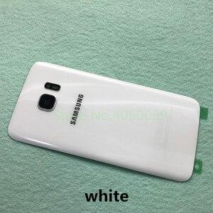 Image 3 - SAMSUNG couvercle de batterie arrière pour Samsung Galaxy S7 G930 SM G930F S7 Edge G935 SM G935F coque arrière en verre + outils