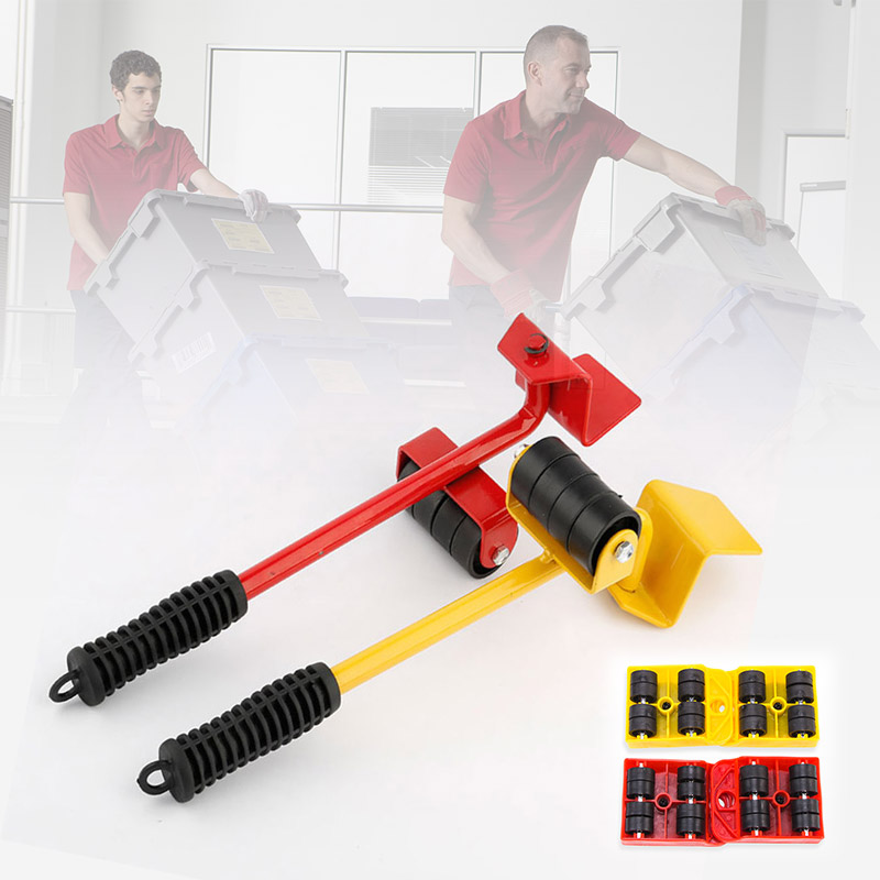 Hot Sale 5pcs Heavy Object Mover Set Portable Move Handling Tool For Furnitures Fish Tank 688