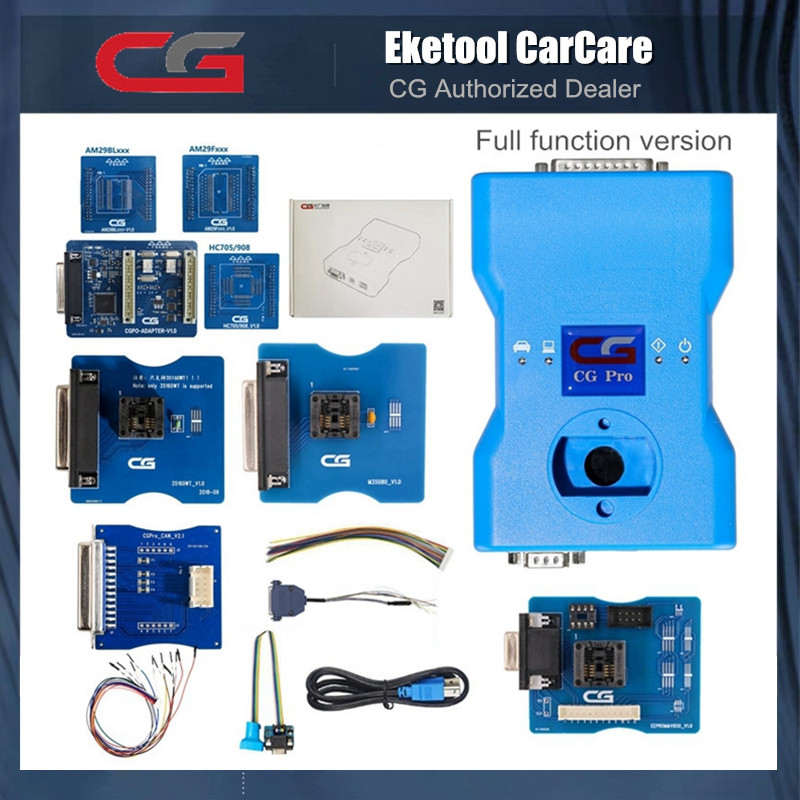 Original CGDI CG Pro 9S12 For BMW Key Programmer Next Generation Of CG100 CG-100 For Freescale Full Version All Adapters