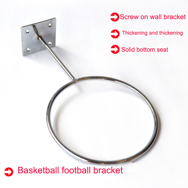 Баскетбольный футбольный держатель настенное крепление для футбольного мяча волейбольный Стенд для хранения ASD88