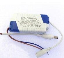 5 24x1W 디 밍이 가능한 Led 드라이버 300mA 3W 4W 5W 7W 9W 10W 15W 18W 20W 21W 24W 전원 공급 장치 AC 110V 220V LED 천장 조명 전구