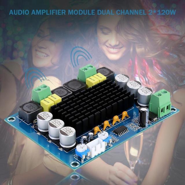 2x120W TPA3116D2 ערוץ כפול סטריאו גבוהה כוח דיגיטלי מגבר אודיו לוח XH M543 אודיו Amp מודול TPA3116 DC12 ~ 26V