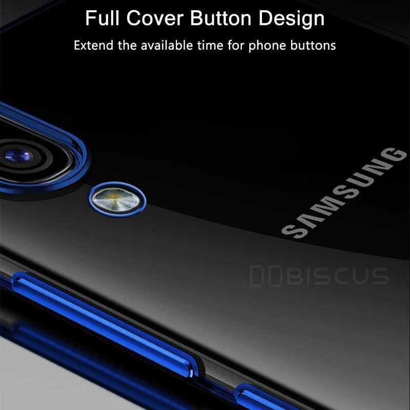Untuk Samsung Galaxy A30S A50 A30 A10 A10S A20 A20S A70S A70 A40 A20e S10 S8 S9 Plus Catatan 10 Plating TPU Soft Silicone Cover A105 A205 A107 A207 A305 A307 A405 A505 A507 A705 A202