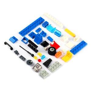 Image 3 - 1122 pcs SWAT עיר משטרת סדרת אבני בניין רכב מסוק עיר משטרת Staction DIY לבנים תואם עם LegoED בלוק משחק תפקידים דמויות פעולה צעצועים לילדים