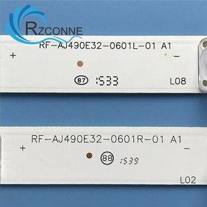 """Image 4 - LED Backlight strip12 lamp For Sharp 49""""TV LC 49CFF5001K RF AJ490E32 0601R 01 0601l A1 LY.45J01G001 LC 49CFE6032E LC 49CUF8472"""