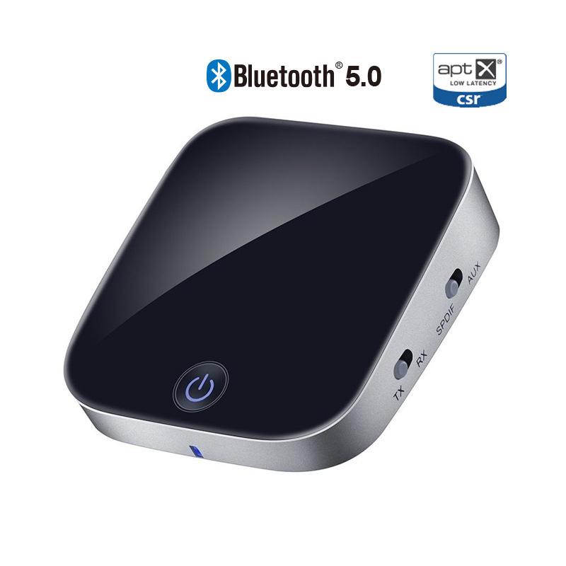 <font><b>Bluetooth</b></font> 5,0 Audio <font><b>Bluetooth</b></font> Sender Empfänger 2 IN 1 3,5mm CSR8670 V5.0 Drahtlose <font><b>Bluetooth</b></font> Adapter für Headset Auto und <font><b>TV</b></font> image