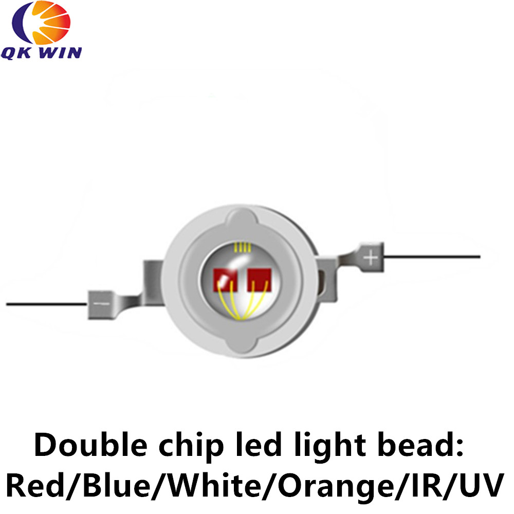 Infrared <font><b>730nm</b></font> led emitter for led lamps/bulbs red led chip good for led plant grow lamps flowering image