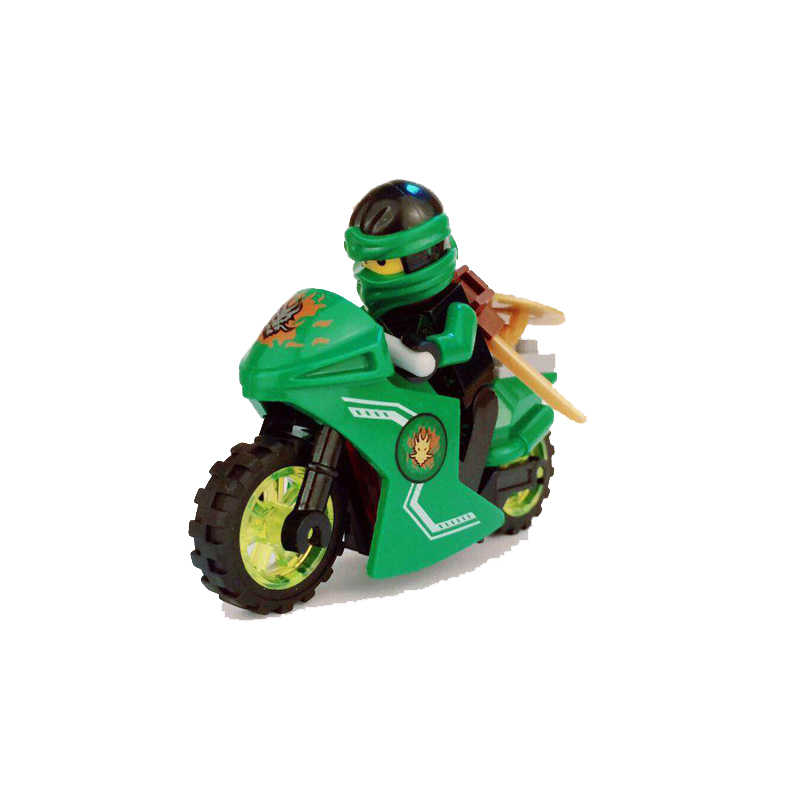 Compatible INGlys NinjagoINGlys Sets NINJA Heroes Kai Jay Cole Zane Nya Lloyd With Weapons Action Toys DIY for children