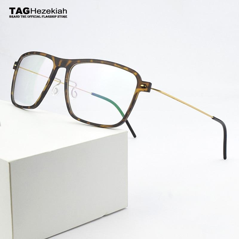 2020 Square Optical Glasses Frame Men Eyeglasses Ultra Light Brand TR90 Transparent Eye Glasses Frames For Men Spectacle Frames