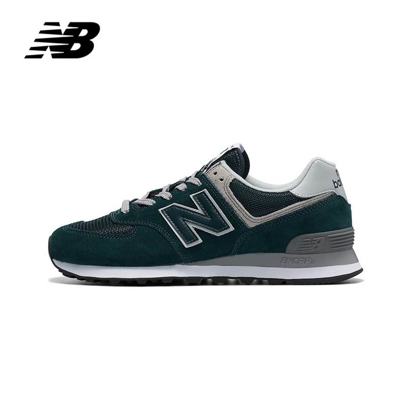 Original Authentic NEW BALANCE NB Running Shoes Men And Women Shoes Sneaker Trend Breathable Classic Low Help ML574EPH / PF / PE