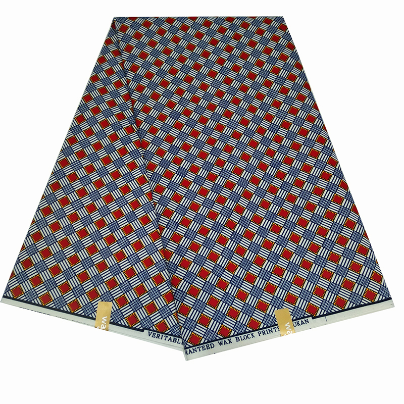 2020 African Ankara High Quality Real Wax Fabric For Nigeria Fashion Women Clothing African Wax Print Fabric Polyester Material