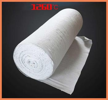 high temperature resistant heat insulation cloth fire curtain flame retardant 1Mx1M thickness 2MM Ceramic fiber cloth