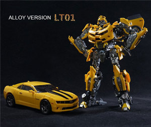 Legendary Transformation LT-01 LT01 LTS-03C Yellow Bee MPM03 MPM-03 Alloy Movie Upgade KO Action Figure Toys(China)