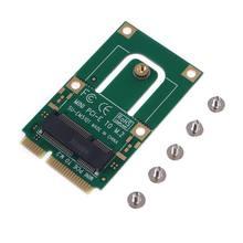 Mini pci-e para m2 adaptador conversor placa de expansão m2 chave ngff e interface para m2 sem fio bluetooth wifi módulo