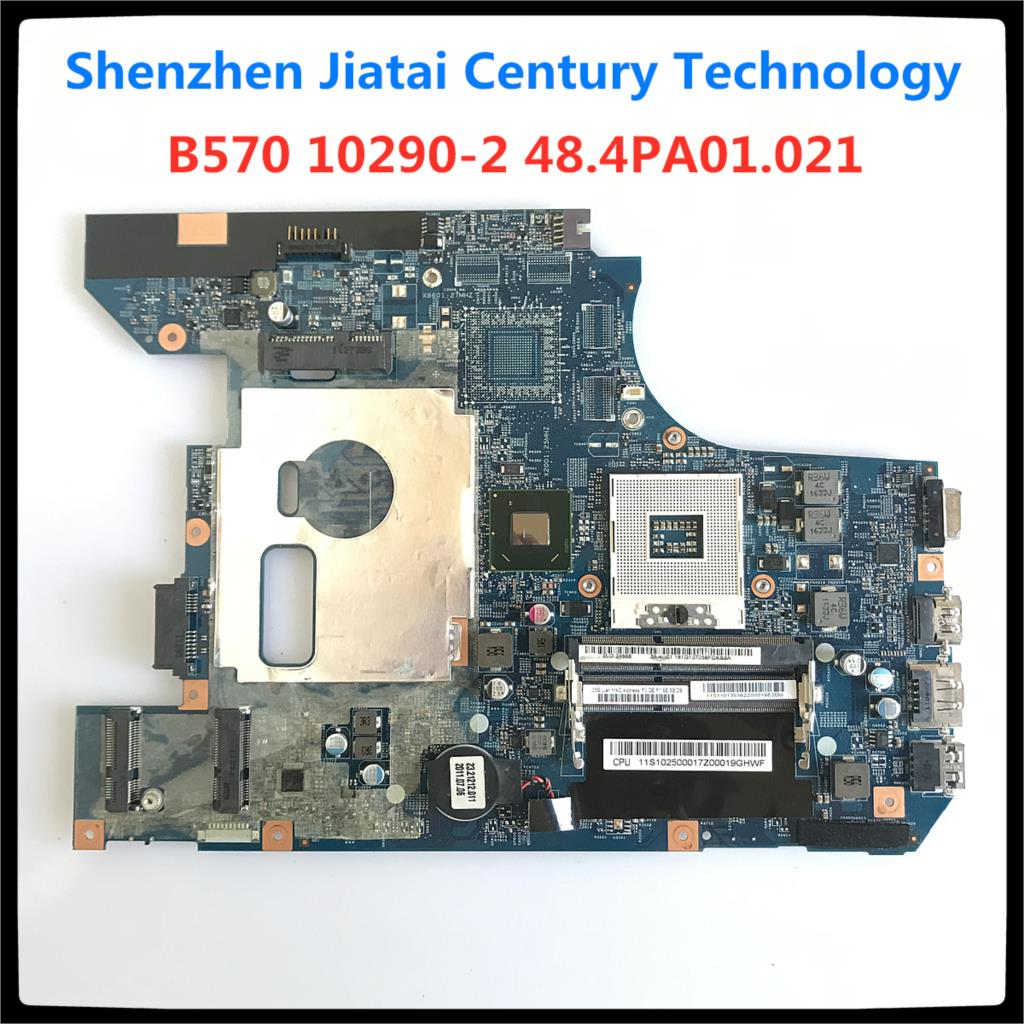 10290-2 48.4PA01.021 LZ57 MB mainboard for Lenovo B570 B570E motherboard V570 V570C motherboard HM65 PGA989 full Tested working 1