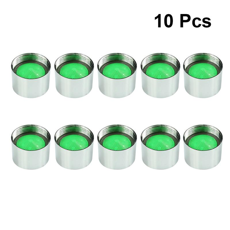 10Pcs Faucet Bubbler Faucet Aerator Threaded Brass Replacement Part Faucet Aerator For Bathroom Kitchen