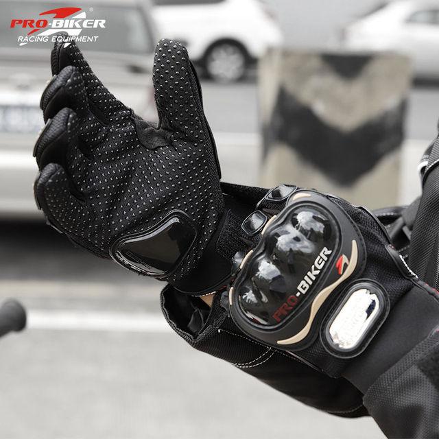 Ladies Pro Biker Gloves 5