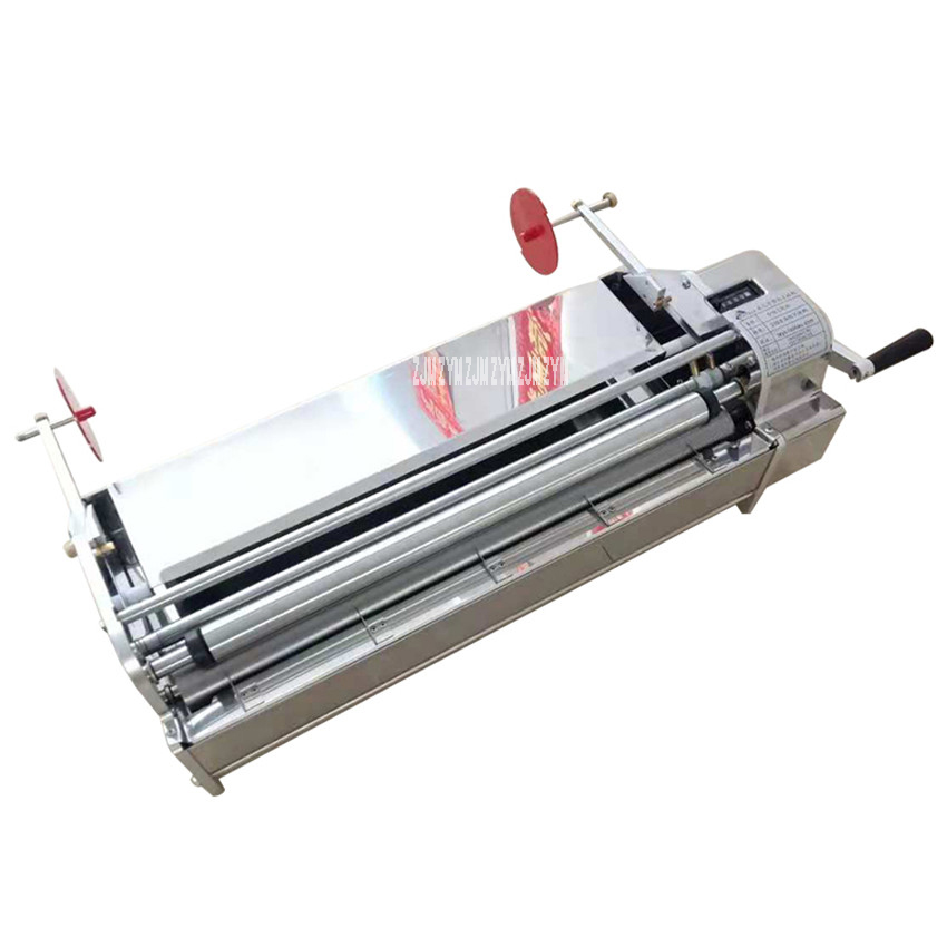 TZY 53 Manual Hand Shake Stainless Steel Wallpaper Glue Coating Sizing Machine Gluing Machine Coater Paste Cementing Machine| |   - title=