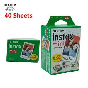 Image 2 - Оригинальная пленка Fujifilm Instax Mini 10 20 40 50 60 листов для камеры моментальной печати FUJI Mini 11 9 8 7s 70 90 25, пленка для камеры, новинка, Лидер продаж