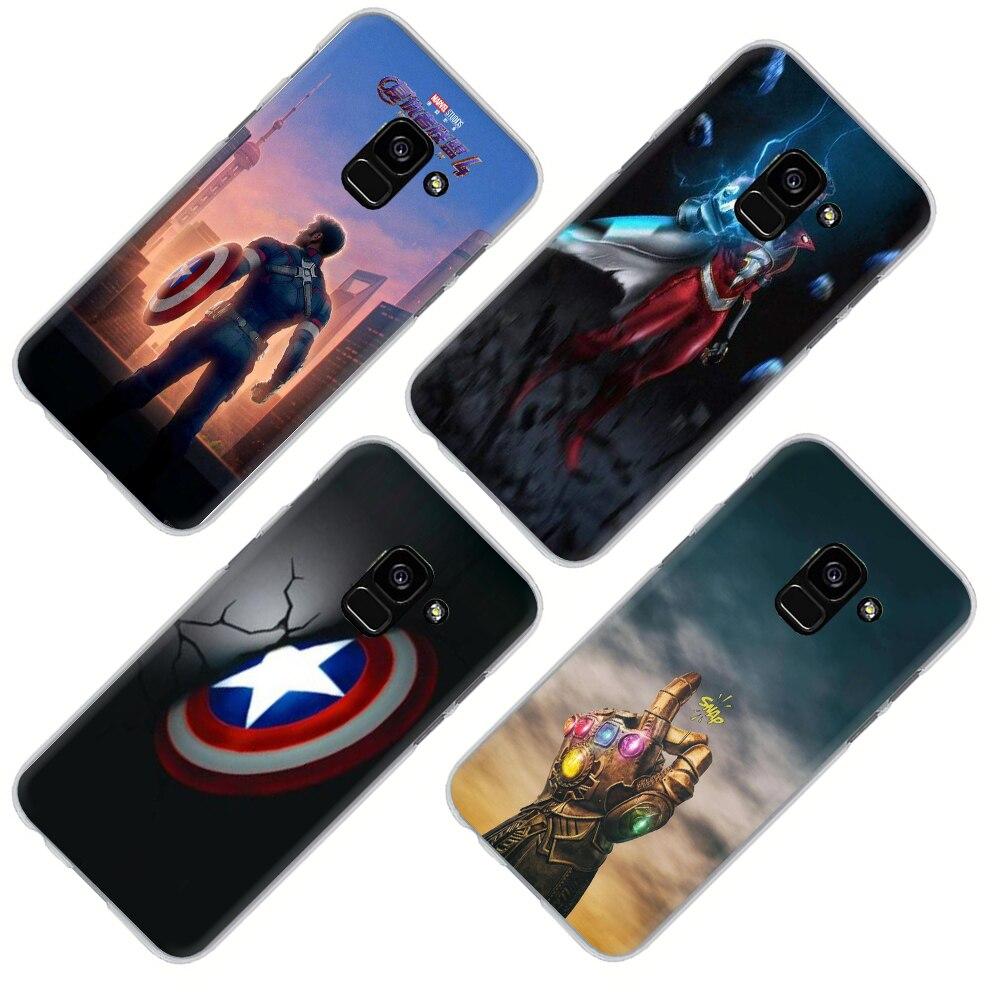 Marvel Los Vengadores Logo Funda cubierta rígida de teléfono N22i