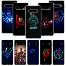 Avengers Deadpool Star Wars Case for Samsung Galaxy A10 A20E A30 A40 A70 M30S A50S A6 A7 A8 A9 Plus 2018 Soft Phone Cover Coque(China)