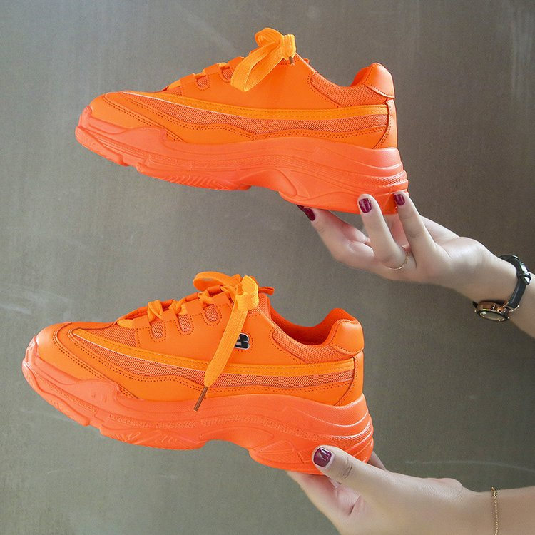 Candy-Colored Fashion Chunky Sneakers 8