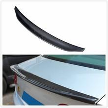 Caractere estilo fibra de carbono traseira splitter asa para audi a4 b8 2009 2010-2012 2011 exterior do carro spoiler lábio cauda asa tronco guarnição