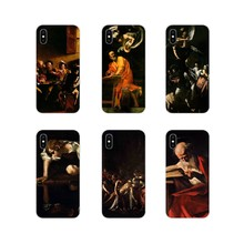 Caravaggio The Soul and the Blood For Samsung Galaxy S3 S4 S5 Mini S6 S7 Edge S8 S9 S10 Lite Plus Note 4 5 8 9 Clear Case Design(China)