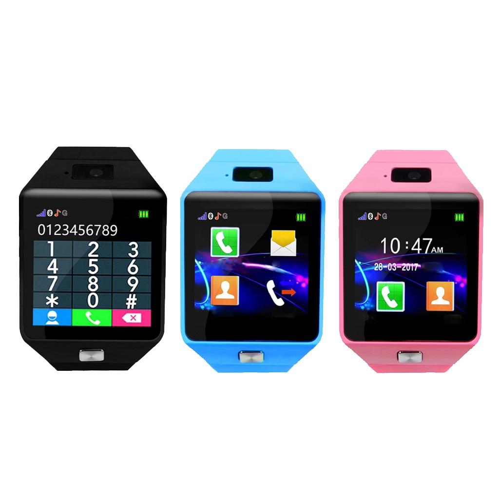 Touch Screen Kids Smart Watch Phone Smartwatch for Children Voice Chat Remote Camera Sleep Monitoring Pedometer Smartwatch