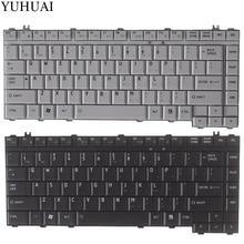 Для TOSHIBA Satellite A200 M200 A300 M300 L300 L305D M205 L200 L205 серии клавиатуры ноутбука США черный