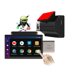 4G Android Car DVR Built in GPS WIFI Car Camera IPS Touch HD 1080P Car Dash Camera Remote Monitoring Video Recorder With ADAS