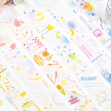 3M LOSTFOCUS Series Kawaii PET Washi Masking Tape DIY Crafts Scrapbooking  Decorative Adhesive Tape School Stationery Stickers