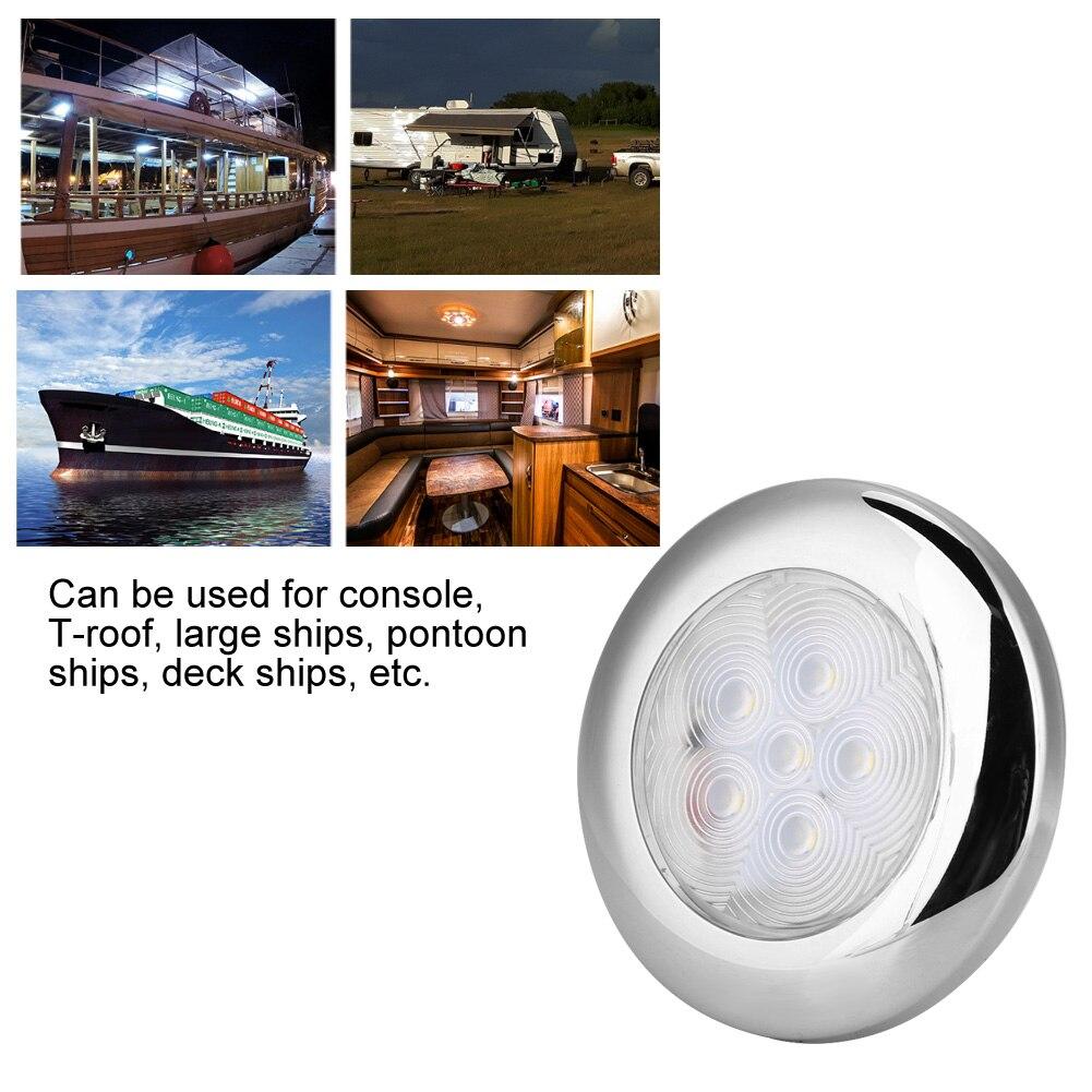 Новый светодиодный купольный светильник для морской лодки яхты